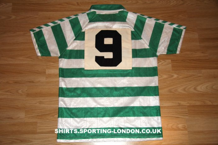1989-1990 HOME SHIRT BACK