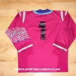 1992-1994 GOALKEEPER SHIRT BACK