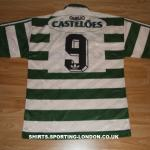 1994-1995 HOME SHIRT BACK