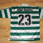 1995-1996 HOME SHIRT BACK