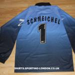 1999-2000  SCHMEICHEL GOALKEEPER SHIRT BACK