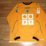 2002-2003 GOALKEEPER SHIRT FRONT
