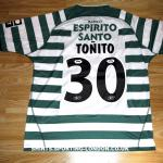2003-2004 HOME SHIRT BACK