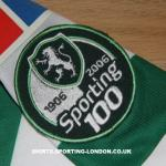 2005-2006 HOME SHIRT BADGE *CENTENARY*