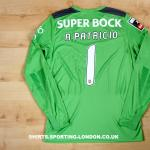 2013-2014 GOALKEEPER SHIRT BACK