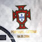 2004 Portuguese National Team alternative shirt - crest