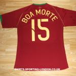 2006 Portuguese National Team main shirt - back